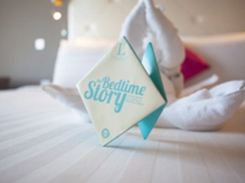 bedtime story at L hotel